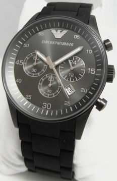 Emporio Armani Sportivo AR5889  Chronograph – Men's watch – Year 2016, new