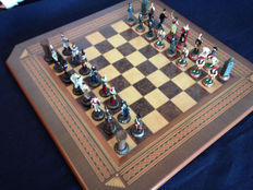 The Franco-Spanish independence war chess