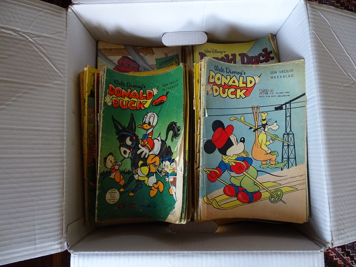Donald Duck Weekblad - 459 issues - sc - 1st edition (1953/1988)