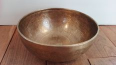 A hand made singing bowl - Nepal - end 20th century