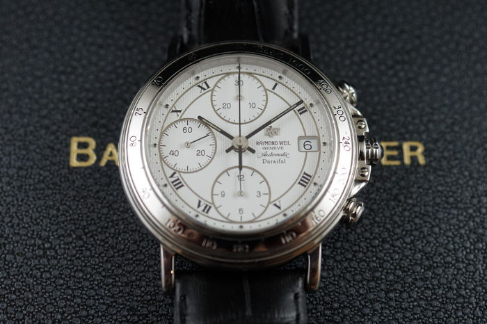 d73c874cc26 Raymond Weil Parsifal Chronograph - Men s WristWatch - 2000 s ...