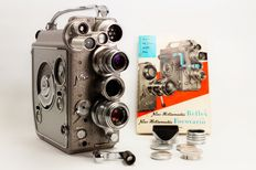 Nizo Heliomatic 8 Reflex - 8mm film camera (ca 1957)