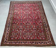 Unique Persian Hamadan - 151 x 115 - collector's item - with certificate - No reserve