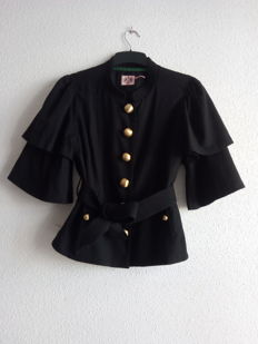 Juicy Couture - Black Military Style Jacket