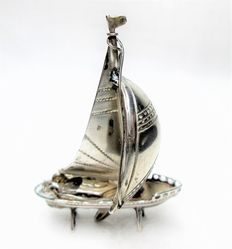 Silver miniature - Sailing Ship.