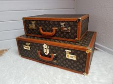 Two luxury car suitcases, Germany