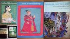 Lot with four books about miniature painting art in India – 1969/1987