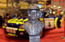 Bronze bust Colin Mc. Rae Subaru Impreza Rally - Only 30 copies in the world