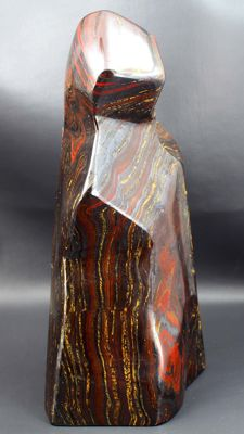 Large Multi Color Tiger's Eye / Iron Stone hand-polished Tumble - 285 x 105 x 103mm - 6045gm