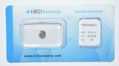 0.41ct brilliant cut diamond, TC(P-R), SI1