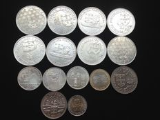 Portugal – 15 Commemorative Coins – 1986 to 1996 – Lisbon