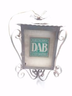 Old outdoor lamp - Germany - Brewery dab - 1957.
