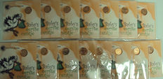 The Netherlands - Baby mini coin sets with medal 1999/2013 (15 different ones) complete