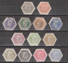 Belgium – Telegraph stamps from 1879 on, between TG 3 and 21/28