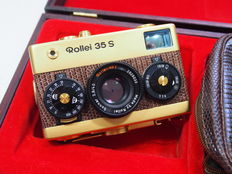 Rollei 35 S Gold Limited Edition  - Sonnar 2,8 / 40mm