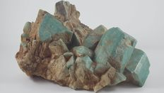 Microcline var. Amazonite - 15 x 12.5 x 8.5cm - 1103gm
