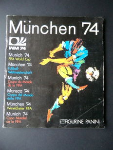 Panini - München 74 - Complete album - Very good condition.