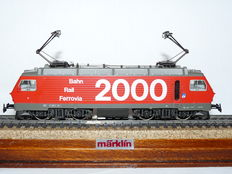 Märklin H0 - 3330 - Electric Locomotive Re 4/4 IV of the SBB