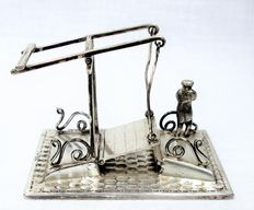 Silver miniature - Drawbridge
