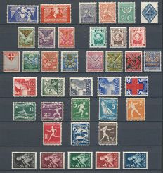 The Netherlands 1923/1938 - Selection including Children and Olympics