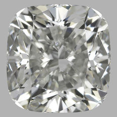 1.01 ct Cushion Diamond JVS2 GIA-Original Image -10X-1637
