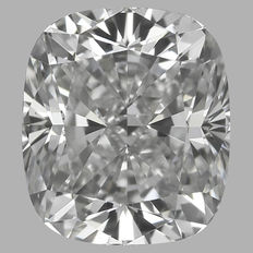 0.60 ct Cushion  Brilliant Diamond D VS1 GIA Serial# 225