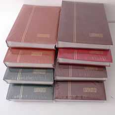 Accessories - 8 stamp albums from Lindner