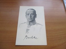 WW1 Germany 1914 to 1918 Documents: Cards partly real and original, approx. 100 years old