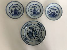 Porcelain plates – China – 18th century
