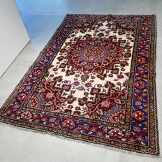 Remarkable semi-antique Taresh Zanjan Persian carpet - 190 x 130 - collector's item