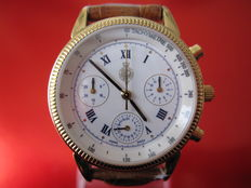 Delma  – Chronograph Royal Geographical Society Ref. 667.230 – Men's watch – 1990