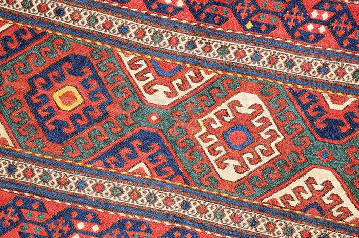 Mafrash Flatweave, Schahsavan-tribes, antique! ca. 104 x 44 cm