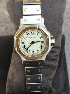 Cartier Automatic Santos Gold&Steel - Women's watch