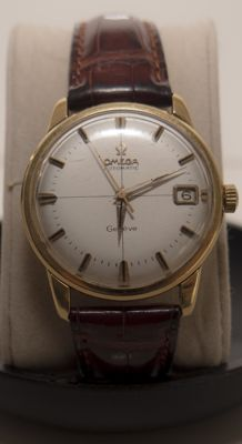 Omega Genève – Classic Vintage Gold Wristwatch – 1961