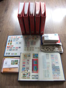 United Nations 1951/2001 - Extensive batch loose and in various stock books and binders