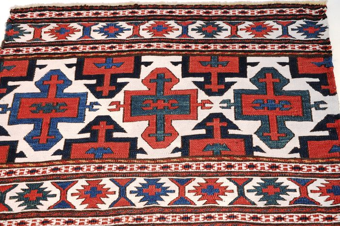 Mafrash Flatweave, Schahsavan-tribes, antique! ca. 55 x 46 cm