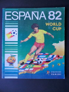 Panini - España 82 World Cup - Complete album - Very good condition