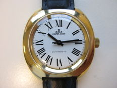 Meister-Anker Eastern Germany - Large men's wristwatch - Gilded - 1970s