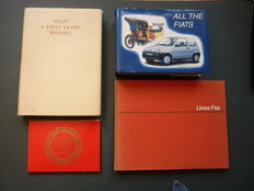 Four books about Fiat - 1951 / 1991