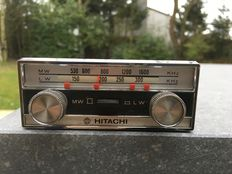 HITACHI - vintage car radio from the 1950s or 60s