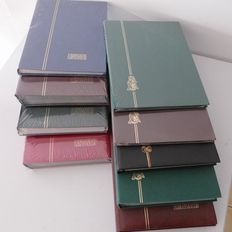Accessories - 9 stamp albums from Linder etc.