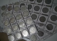 Portugal – 32 silver coins – 1000$00, 500$00  – (31 cupronickel coins, 250$00, 200$00 and 100$00) - From 1980 to 1999