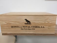 "2005 Vintage Port Quinta do Noval ""Silval"" – 12 bottles in original closed wooden case"