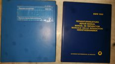 Two BMW workshop manuals - BMW 525 and BMW 1500-1600-1800-1800 TI - 2nd half 20th century - no reserve price.