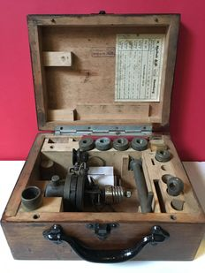 Maihak - Antique compression meter for pistons of a diesel engine - first half 20th century
