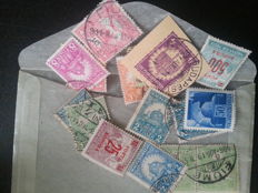 World - Unsorted batch with China, Italy, Switzerland, Luxembourg, etc. from classic