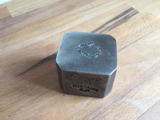 Heavy antique factory stamp - metal - ca. 1900, France