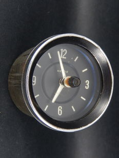 Vintage Kienzle Auto Car Clock Timepiece For Dashboard Fitting Classic Car 12 Volts Porsche VW Marked W Germany