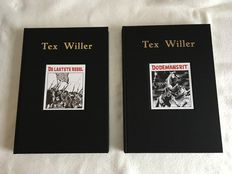Tex willer  2x hc deluxe  1st edition of reissue  2015-2016