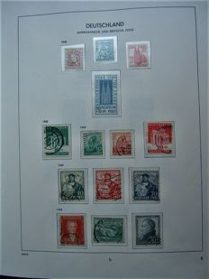 Federal Republic of Germany 1949/1983 – complete collection in Davo album.